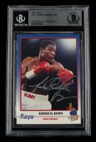 Riddick Bowe Signed 1991 Kayo #171 (BGS Encapsulated) at PristineAuction.com