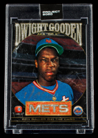 Dwight Gooden Signed 2020 Topps Project 2020 #86 / Ben Baller (Schwartz Sports COA) at PristineAuction.com