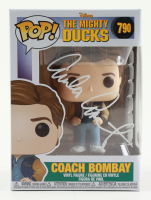 "Emilio Estevez Signed ""The Mighty Ducks"" #790 Coach Bombay Funko Pop! Vinyl Figure (JSA COA) (See Description) at PristineAuction.com"