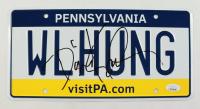 "David Koechner Signed ""The Office"" Pennsylvania License Plate (JSA COA) (See Description) at PristineAuction.com"