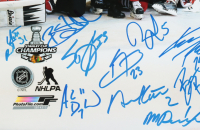 2015 Blackhawks 16x20 Photo Signed by (23) with Duncan Keith, Brent Seabrook, Marian Hossa, Brandon Saad, Andrew Shaw (YSMS LOA) at PristineAuction.com