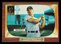 Mickey Mantle 1996 Topps Mantle #5 1955 Bowman at PristineAuction.com
