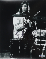 Charlie Watts Signed The Rolling Stones 8x10 Photo With Inscription (Beckett COA) at PristineAuction.com