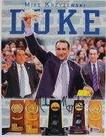 Mike Krzyzewski Signed Duke Blue Devils 8x10 Photo (Beckett COA) at PristineAuction.com