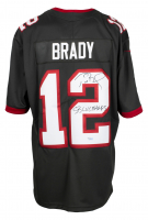 """Tom Brady Signed Buccaneers Nike Jersey Inscribed """"SB LV Champs"""" (Fanatics Hologram) at PristineAuction.com"""