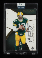 Aaron Rodgers 2016 Panini Honors Recollection Collection #33 2015 Immaculate Collection #1/5 at PristineAuction.com