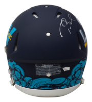 Tom Brady Signed Super Bowl LV Matte Black Speed Mini Helmet (Fanatics Hologram) at PristineAuction.com