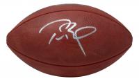 """Tom Brady Signed """"The Duke"""" Super Bowl LV Logo NFL Official Game Ball (Fanatics Hologram) at PristineAuction.com"""