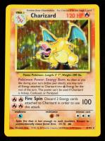 Charizard 1999 Pokemon Base Unlimited #4 HOLO R at PristineAuction.com