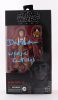 """David Ankrum Signed 2019 """"Star Wars"""" The Black Series #102 Wedge Antilles Action Figure Inscribed """"Wedge Antilles"""" at PristineAuction.com"""