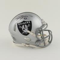 Kenyan Drake Signed Raiders Speed Mini Helmet (Beckett Hologram) at PristineAuction.com