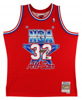 Magic Johnson Signed All-Star Jersey (Beckett COA) at PristineAuction.com