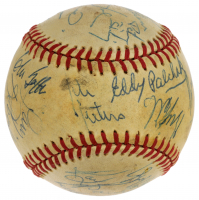 NHL Hall of Famer's Signed ONL Baseball Signed by (26) with Wayne Gretzky, Mark Messier, Mike Bossy (JSA LOA) at PristineAuction.com
