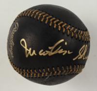 Martin Sheen Signed OML Black Leather Baseball (JSA Hologram) at PristineAuction.com
