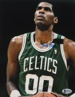 Robert Parish Signed Celtics 8x10 Photo (Beckett COA) (See Description) at PristineAuction.com