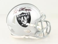 Bryan Edwards Signed Raiders Speed Mini Helmet (Beckett COA) at PristineAuction.com