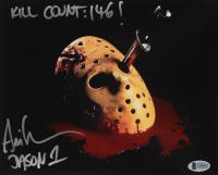 "Ari Lehman Signed ""Friday the 13th"" 8x10 Photo Inscribed ""Jason 1"" & ""Kill Count: 146!"" (Beckett COA) at PristineAuction.com"