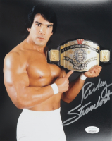 """Ricky Steamboat Signed """"WWF"""" 8x10 Photo (JSA COA) at PristineAuction.com"""