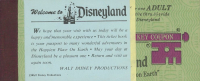 Vintage Disneyland Ticket Book with (9) Tickets at PristineAuction.com