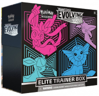 Pokemon Evolving Skies Elite Trainer Box (Glaceon-Vaporeon-Sylveon-Espeon) at PristineAuction.com
