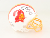 Mike Alstott Signed Buccaneers Throwback Mini Helmet (Beckett COA) at PristineAuction.com