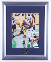 Kobe Bryant 13x16 Framed Photo Display with Official KB Commemorative Pin (See Dsecription) at PristineAuction.com