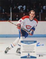 Guy Lafleur Signed Canadiens 8x10 Photo (Beckett COA) (See Description) at PristineAuction.com