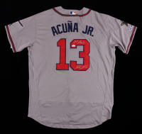 """Ronald Acuna Jr. Signed 2019 All-Star Game Jersey Inscribed """"1st Asg"""" (JSA COA) at PristineAuction.com"""