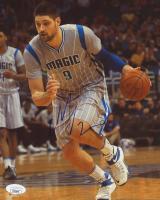 Nikola Vucevic Signed Magic 8x10 Photo (JSA COA) at PristineAuction.com