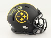 Hines Ward Signed Steelers Eclipse Alternate Speed Mini Helmet (Beckett COA) at PristineAuction.com