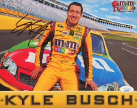 Kyle Busch Signed 8x10 Photo (JSA COA) at PristineAuction.com