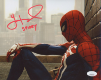 """Yuri Lowenthal Signed """"Spiderman"""" 8x10 Photo Inscribed """"SPIDEY"""" (JSA COA) at PristineAuction.com"""