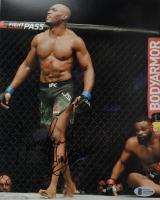 "Kamaru Usman Signed UFC 8x10 Photo Inscribed ""Nightmare"" (Beckett COA) at PristineAuction.com"