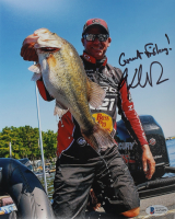 """Kevin Van Dam Signed 8x10 Photo Inscribed """"Great Fishing!"""" (Beckett COA) at PristineAuction.com"""
