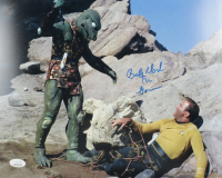 "Bobby Clark Signed ""Star Trek"" 11x14 Photo Inscribed ""The Gorn"" (JSA Hologram) at PristineAuction.com"