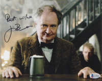 """Jim Broadbent Signed """"Harry Potter"""" 8x10 Photo Inscribed """"Best Wishes"""" (Beckett COA) (See Description) at PristineAuction.com"""