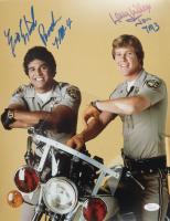 "Eric Estrada & Larry Wilcox Signed ""CHiPs"" 11x14 Photo Inscribed ""Ponch 7M4"" & ""Jon 7M3""  (JSA Hologram) at PristineAuction.com"