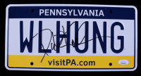 "David Koechner Signed ""The Office"" Pennsylvania License Plate (JSA COA) at PristineAuction.com"