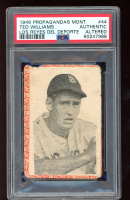 Ted Williams 1946-47 Montiel Cuban #44 (PSA Authentic) (Altered) at PristineAuction.com