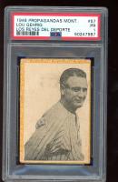 Lou Gehrig 1946-47 Montiel Cuban #57 (PSA 1) at PristineAuction.com