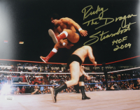 """Ricky """"The Dragon"""" Steamboat Signed """"WWF"""" 11x14 Photo Inscribed """"HOF 2009"""" (JSA COA) at PristineAuction.com"""