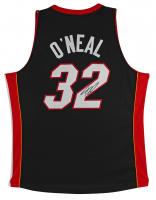 Shaquille O'Neal Signed Heat Jersey (Beckett COA) at PristineAuction.com