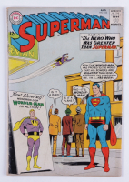 """1963 """"Superman"""" Issue #163 DC Comic Book at PristineAuction.com"""