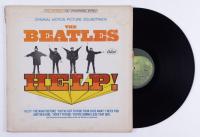 "The Beatles ""Help!"" Original Motion Picture Soundtrack Vinyl Record Album (See Description) at PristineAuction.com"