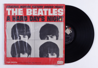 """The Beatles """"A Hard Day's Night"""" Original Motion Picture Soundtrack Vinyl Record Album (See Description) at PristineAuction.com"""