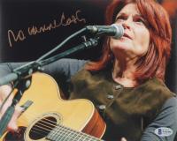 Rosanne Cash Signed 8x10 Photo (Beckett COA) at PristineAuction.com