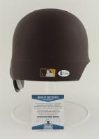 Fernando Tatis Jr. Signed Padres Full-Size Authentic On-Field Matte Brown Batting Helmet (Beckett COA) at PristineAuction.com