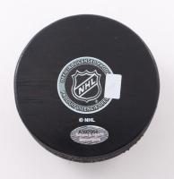 "Bobby Hull Signed Blackhawks Logo Hockey Puck Inscribed ""The Golden Jet"" (Schwartz Sports COA) at PristineAuction.com"