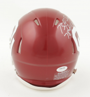 "Billy Sims Signed Oklahoma Sooners Speed Mini Helmet Inscribed ""78 Heisman"" (Schwartz COA) at PristineAuction.com"