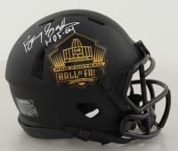 "Barry Sanders Signed Hall of Fame Logo Eclipse Alternate Speed Mini Helmet Inscribed ""HOF 04"" (Schwartz COA) at PristineAuction.com"
